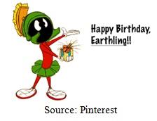 Happy Birthday, Earthling Image