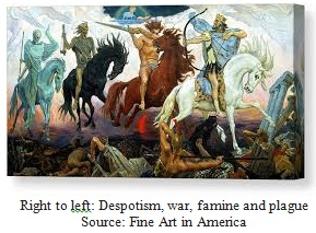 The Four Horsemen of the Apocalypse Image