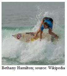 Surfer Bethany Hamilton Image