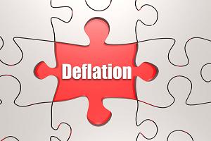 Deflation is Spreading