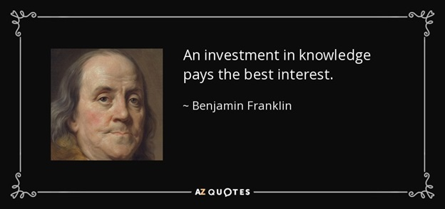 Benjamin Franklin Quote Image