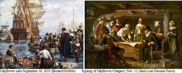 Renditions of Mayflower Conpact