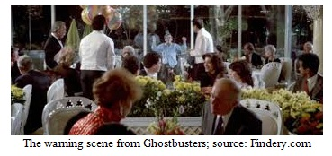 The Warning Scene from Ghostbusters Image