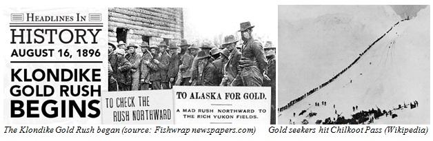 Klondike Gold Rush Images